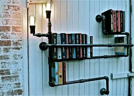 Pvc Pipe Bookshelf Plumbing Pipe Shelves Tubes And Pipes Are Super Versatile