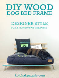 Diy Dog Bed 19 Wooden Dog Beds To Create For Your Furry Four Legged Friends