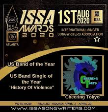 "Music Mafia Radio on Twitter: ""#np BAR HOPPIN' by Cheering Tokyo  @TokyoCheering! #ISSA2020AwardsNominee 😎🎶🎸🍺🎉 ▶️  https://t.co/rhkv8jFYQm https://t.co/mcXzFt2l3F VOTE -  https://t.co/t83bJ7S7ti… https://t.co/xEVbUlVuSV"""