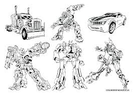 Transformers 4 Coloring Pages Free Printable Pjlibraryradioinfo