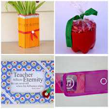4 teacher gift ideas to make