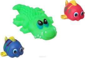 <b>Bondibon Набор для купания</b> Крокодил, Рыбки — купить в ...