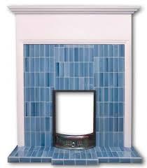 voysey tiled fireplace insert voysey tiled fireplace insert in blue tiles