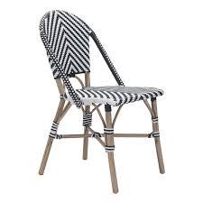 paris dining chair black white