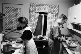 life before equal pay day portrait of a working mother in the jennie and jim magill in the kitchen