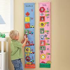 Kids Personalized Fabric Growth Chart Wall Art Fabric