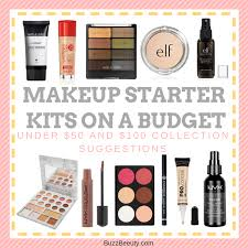 makeup starter kits on a budget under 50 and 100 collection suggestions
