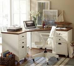 pottery barn desks white whitney corner desk set pottery barn new