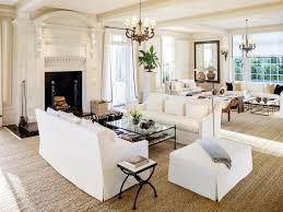 white decor two sitting areas living room designs