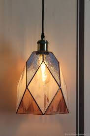 Stained Glass Lamp Tiffany Lamp Loft Ceiling Lamp Shop Online On Livemaster With Shipping H1o1bcom St Petersburg