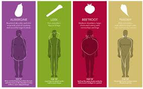 Men Body Chart Men Are You A Beetroot Or A Parsnip Telegraph
