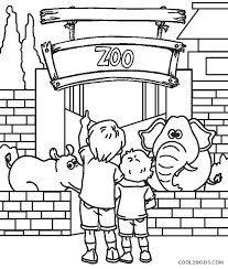 We propose many different styles and difficulty levels, even younger kids will find free printable coloring pages which will enable them to develop their dexterity. Free Printable Zoo Coloring Pages For Kids