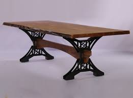 industrial furniture table. Industrial Classic Live Edge Table Furniture