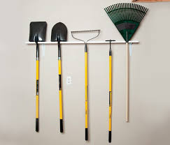 garden rack. In Less Than An Hour You Can Get That Jumble Of Long-handled Yard Tools Neatly Stored This Simple Rack. The Best Part Is, Rack Will Be Customized To Garden H