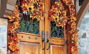 thanksgiving front door decorationsThanksgiving Decorating Ideas for Your Door  Improvements Blog