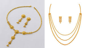 10 Tola Gold Necklace Designs Top 9 Awesome 5 Gram Gold Necklace Designs India Styles At