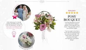 bridal bouquet names gallery for gt types of wedding flowers with names