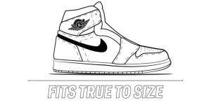 Nike Size Chart Mens Best Of The Ultimate Air Jordan 1