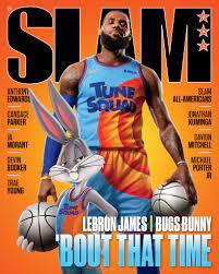 LeBron James and Bugs Bunny Cover SLAM ...