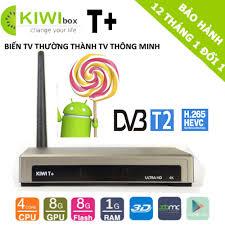 Android tivi Box Kiwi T+, hỗ trợ chức năng DVB T2 - ChoBaDao