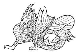 Scary Dragon Coloring Pages At Getdrawingscom Free For Personal