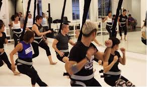 a new way to work out we try the bungee dance fitness cl at dancevault singapore