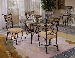 Hillsdale Pompei 5 Piece Dining Set In Black Gold By Dining Rooms