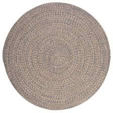 cicero gray 12 ft x 12 ft round area rug