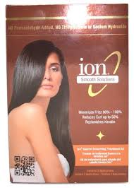 ion keratin smoothing treatment kit