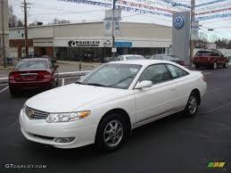 2002 Diamond White Pearl Toyota Solara SE Coupe #25062442 ...