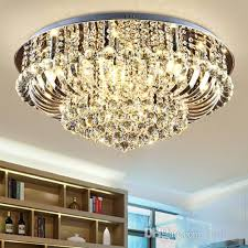 dimmable chandeliers modern design high class k9 crystal chandelier led ceiling chandeliers lighting living room bedroom hall villa forlight
