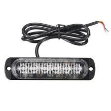 Daylight Led Light Bar Amazon Com 18w Led Light Bar 6 Led Emergency Lights Fog
