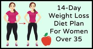 Weight Loss For Women Effective 14 Day Weight Loss Diet Plan For Women Over 35