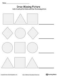Patterns For Preschool Best Preschool And Kindergarten Worksheets My Classroom Pinterest