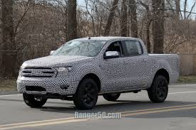 2019 Ford Ranger Testing Officially Underway In U.S.