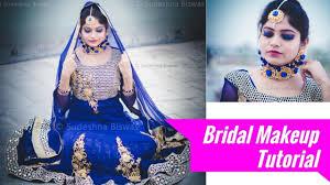 indian bridal makeup tutorial in hindi modern bridal makeup at home
