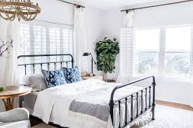 Simple Master Bedroom Decorating Ideas for Spring - Maison de Pax