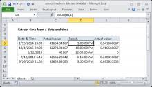 Excel Formula Convert Time To Time Zone Exceljet