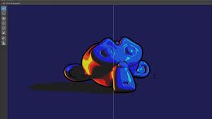 how to make a realtime toon shader and outline with blender 2 8 eevee blendernation