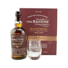 the balvenie 17 year old doublewood single malt whisky gift set