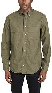 Gitman Vintage Mens Big Check Flannel Button Down Shirt At