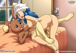 Pokemon characters having hardcore sex