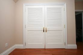 wide louvered interior doors have western style