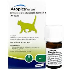 Atopica For Cats 100 Mg Ml 5 Ml