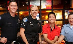 special olympics receives an extra tip from garden grove police