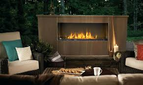 gas outdoor fireplaces napoleon fireplaces outdoor gas fireplace insert canada