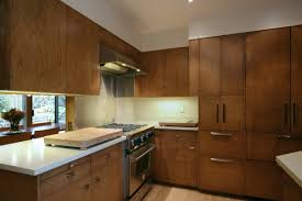Wood Veneer For Cabinets Small Kitchen Decoration Using Solid Cherry Wood Veneer Kitchen