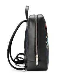 gucci gg supreme backpack with angry cat 1 881 farfetch com lookastic com