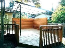 portable deck for rv patio privacy