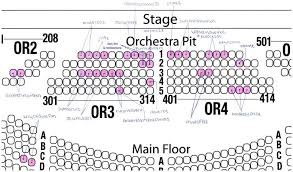 fox theater detroit seating chart orchestra pit jethro tull st